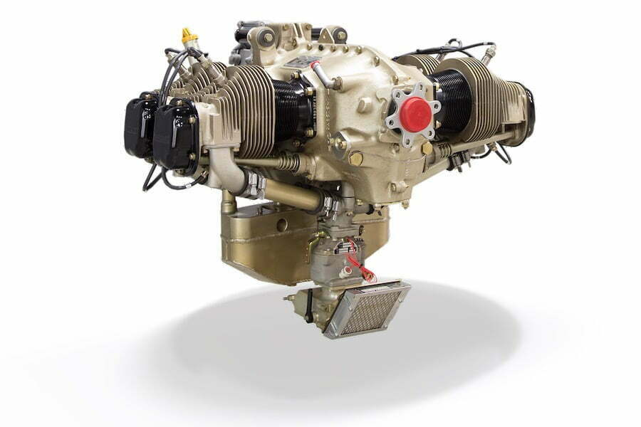Continental_200_Avgas_Aircraft_Piston_Engine