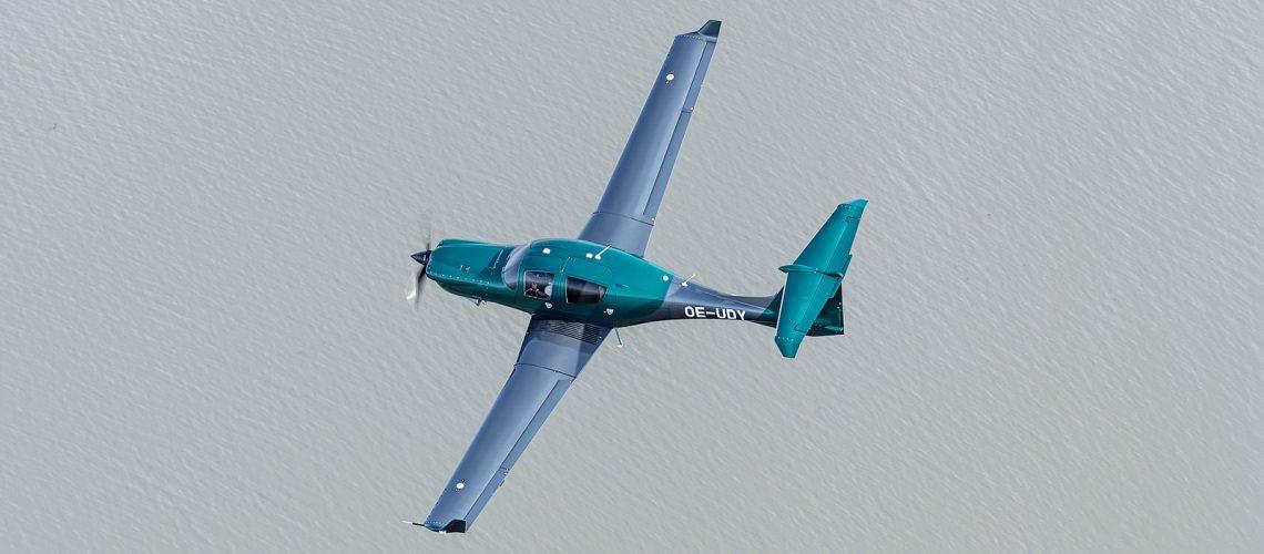 Gemstone Aviation's brand-new DA50 RG demonstrator with a superb new livery
